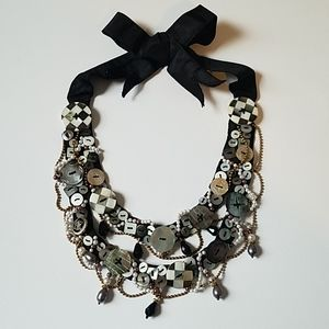 MacKenzie-Childs Button Necklace